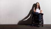 Woman-in-wheelchair-in-the-studio