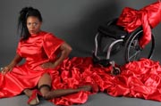 The-lady-in-red