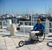 Woman-in-wheelchair-at-the-Coconut-Grove-Marina