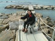 Non-accessible-beach-access
