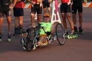 Hand-cycles-in-marathon-road-race