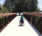 Woman-in-wheelchair-in-the-park