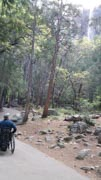 Man-using-wheelchair-exploring-Yosemite-National-Park