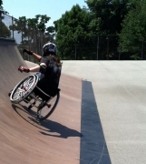 Wheelchair Skating