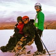 Skiing-with-kids,-Sun-Valley-Idaho