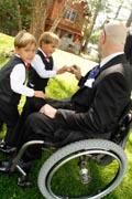 Man-in-wheelchair-at-wedding