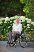Young-woman-using-wheelchair-exploring-Salt-Lake-City