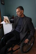 Detective-in-wheelchair-reviewing-crime-scene