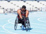 Wheelchair-racing-training-session