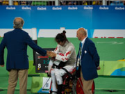 Rio-Paralympic-Games,-Womens-Individual-foil-Category-B,-Gold-Medal-Round-won-by-Beatrice-Vio