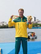 Rio-2016-Paralympic-Games-Inaugural-Canoe-Sprint-Competition.-Men's-KL2-Final,-Gold-Curtis-McGrath-Australia,-Silver-Markus-Swoboda-Austria,-Bronze-Nick-Beighton-Great-Britain